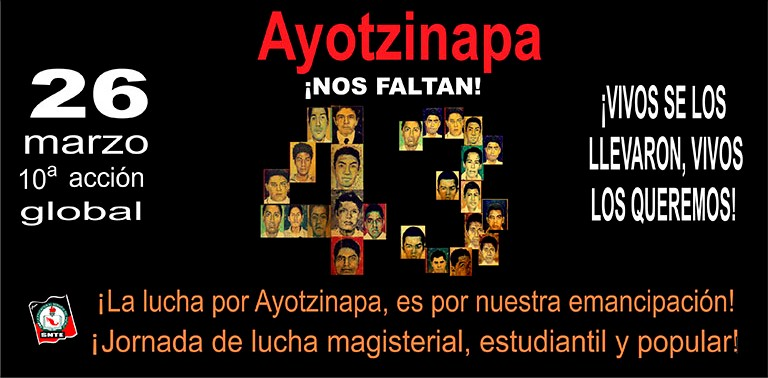 10ª Acción Global por Ayotzinapa