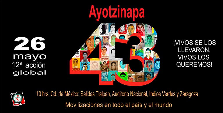 12ª Acción Global por Ayotzinapa